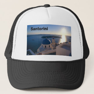 Greece Santorini Sunset (St.K) Trucker Hat