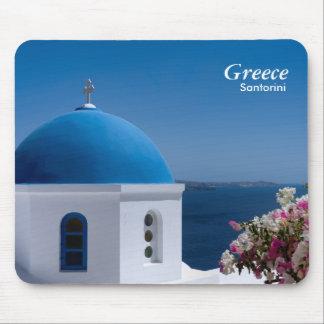 Greece Santorini Travel Mouse Pad
