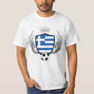 Greece Shield Soccer Tshirt