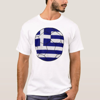 Greece Soccer Ball T-shirt