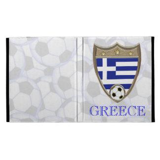 Greece Soccer iPad Case