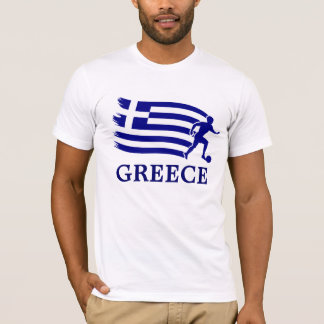 Greece  Soccer Flag T-Shirt