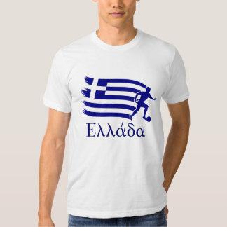 Greece  Soccer Flag T-shirts