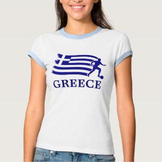 Greece  Soccer Flag T Shirts