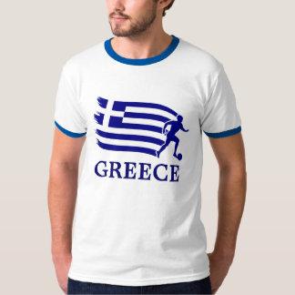 Greece  Soccer Flag Tshirts