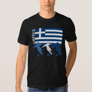 Greece - Soccer Players T Shirt