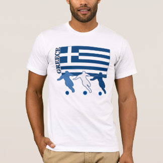 Greece - Soccer Players T-Shirt