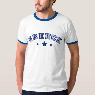 Greece Team Soccer Football T-Shirt