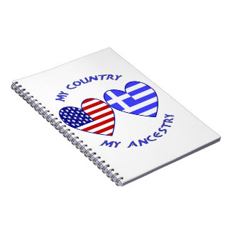 Greece / USA Country Ancestry Notebook