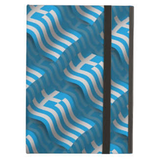 Greece Waving Flag iPad Covers