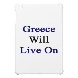Greece Will Live On iPad Mini Covers