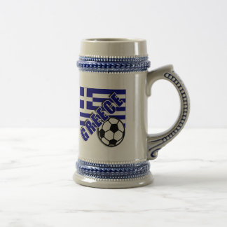 GREECE World Soccer Fan Tshirts Beer Stein