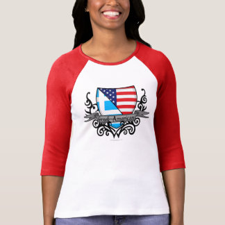 Greek-American Shield Flag T-Shirt