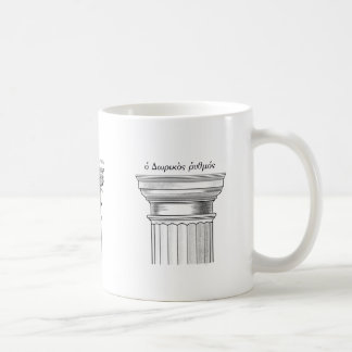 Greek Architectural Orders Coffee Mug
