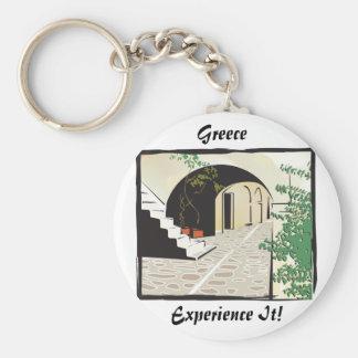 Greek Archway Key Ring