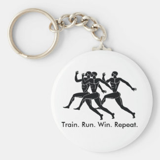 Greek Athlete Sports Running Winning Formula Key Ring