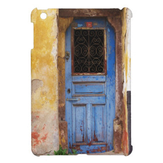 Greek Blue door in CRETE, Greece Cover For The iPad Mini