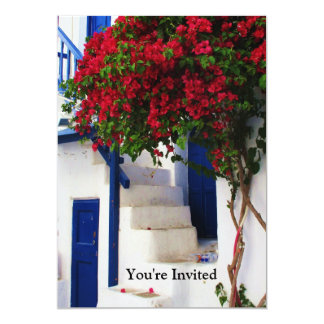 Greek Blue Door - Mykonos, Greece invite