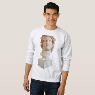 Greek Bust (vaporwave) Sweatshirt