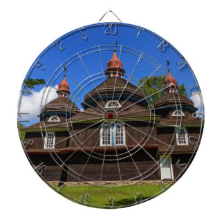 Greek catholic church, Nizny Komarnik, Slovakia Dartboard