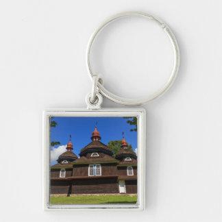 Greek catholic church, Nizny Komarnik, Slovakia Key Ring