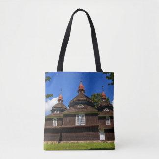 Greek catholic church, Nizny Komarnik, Slovakia Tote Bag