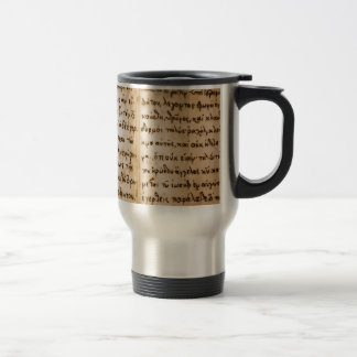 Greek Characters Coffee Mugs