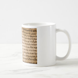 Greek Characters Coffee Mug