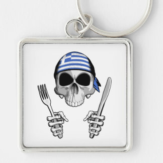 Greek Chef 4 Key Chains