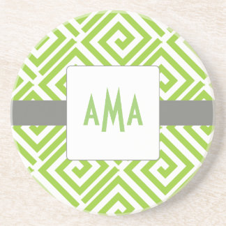 Greek Chic Coaster-Choose Your Colors Coaster