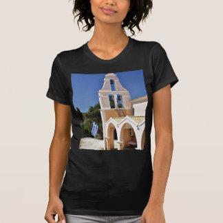 Greek Church In A Summer Day Tshirt