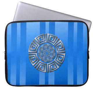 Greek Circle Motif Laptop Sleeve
