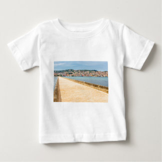 Greek City Port Argostoli with road on bridge Baby T-Shirt