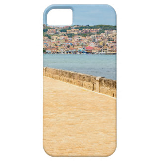 Greek City Port Argostoli with road on bridge Case For The iPhone 5