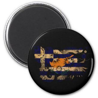 Greek Cyprus Flag 6 Cm Round Magnet