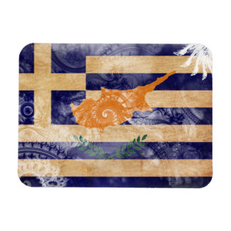 Greek Cyprus Flag Rectangular Photo Magnet