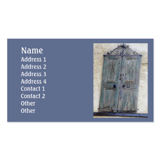 Greek Door Standard Pack Of Standard Business Cards