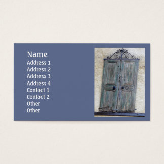 Greek Door Standard Business Card
