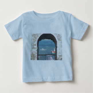Greek Door to the Ocean Baby T-Shirt