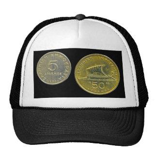 Greek Drachma Coins Mesh Hat
