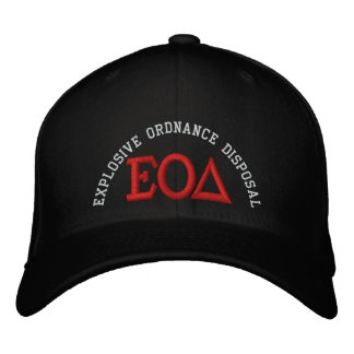 Greek EOD Embroidered Hats