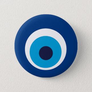 Greek eye 6 cm round badge