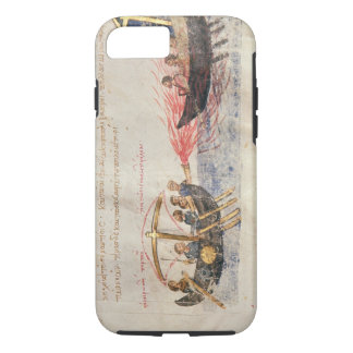 Greek fire (vellum) iPhone 8/7 case