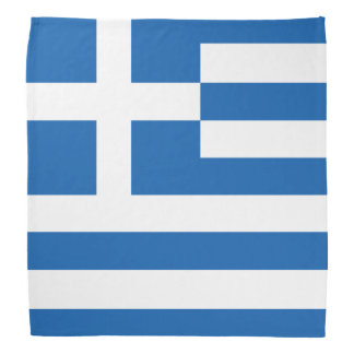 Greek flag bandanas