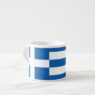 Greek Flag Espresso Cup  Φλιτζάνι καφέ ελληνική ση