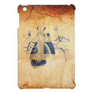 Greek Flag in Real heart iPad Mini Cover