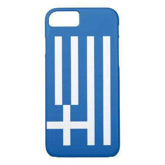 Greek Flag iPhone 7 Case