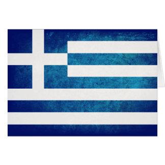 Greek Flag Note Card