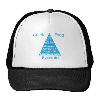 Greek Food Pyramid Cap