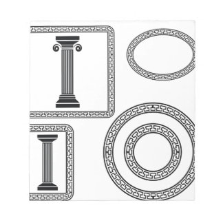 Greek Frame Notepad